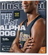 The Last Alpha Dog Sports Illustrated Cover Acrylic Print