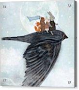 The Light Bird Acrylic Print