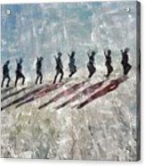 The Long Walk, World War Two Acrylic Print