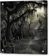 The Lost Cemetery Acrylic Print
