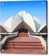 The Lotus Temple, Located In New Delhi Acrylic Print