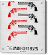 The Magnificent Seven Acrylic Print