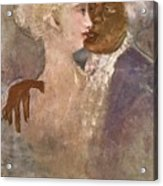 The Mulatto And The Sculpturesque White Woman 1913 Acrylic Print