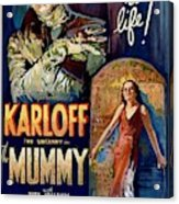 The Mummy 1932 Film Acrylic Print