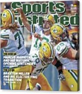 The Mvp Qb The Mind Game Of Aaron Rodgers Sports Illustrated Cover Acrylic Print