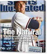 The Natural Atlanta Rookie Jeff Francoeur Is Off To An Sports Illustrated Cover Acrylic Print