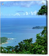 The North Bay As Seen From Mount Harriett Acrylic Print