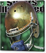 The Notre Dame Miracle Sports Illustrated Cover Acrylic Print