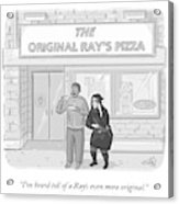 The Original Ray's Acrylic Print