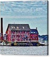 The Paint Factory, Gloucester, Massachusetts Acrylic Print