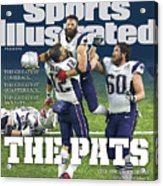 The Pats Super Bowl Li Champs Sports Illustrated Cover Acrylic Print