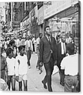 The Pied Piper Of Harlem, Cassius Clay Acrylic Print
