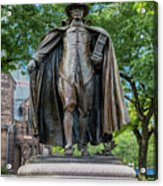 The Puritan Statue Acrylic Print