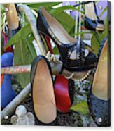 The Red Sole Shoes 4 Acrylic Print
