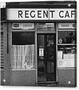 The Regent Cafe Acrylic Print