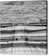 The Road From Casper Acrylic Print