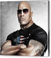 The Rock Dwayne Johnson I I Acrylic Print