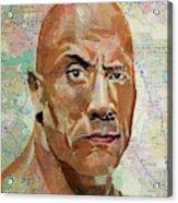 The Rock From California Acrylic Print