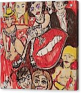 The Rocky Horror Picture Show Acrylic Print