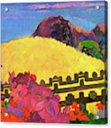 The Sacred Mountain - Digital Remastered Edition Acrylic Print