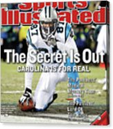 The Secret Is Out Carolina Is For Real Sports Illustrated Cover Acrylic Print