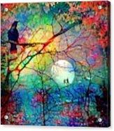 The Secret Path Of Night Acrylic Print