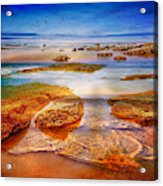 The Silent Morning Tide Acrylic Print