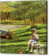 The Simple Life Acrylic Print