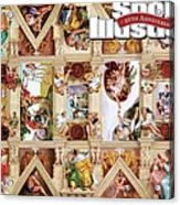 The Sistine Chapel Of Sports, 50th Anniversary Issue Sports Illustrated Cover Acrylic Print