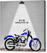 The Sportster Vintage Motorcycle Acrylic Print
