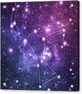 The Stars Constellation Of Orion Acrylic Print