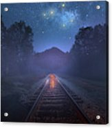 The Stars Of Locust Ridge Acrylic Print