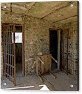 The Stone Jailhouse Interior Acrylic Print