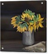 The Sun Flowers  Acrylic Print