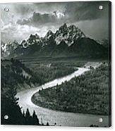 The Tetons - Snake River Acrylic Print