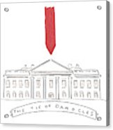 The Tie Of Damocles Acrylic Print