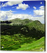 The Top Of Independence Pass Acrylic Print