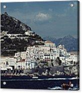 The Town Of Amalfi Acrylic Print