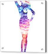 The Universe In Her Soul Acrylic Print