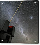 The Vlts Laser Guide Star Acrylic Print