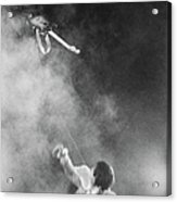 The Who Performing In Flint, Mi Acrylic Print