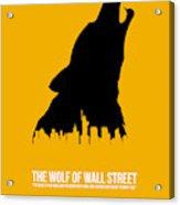 The Wolf Of Wall Street Acrylic Print