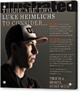 There Are Two Luke Heimlichs To Consider... Sports Illustrated Cover Acrylic Print