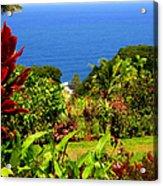 There Is A Paradise - Maui Hawaii Acrylic Print