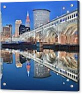 This Is Cleveland II Acrylic Print