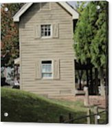 This Not Old House  Acrylic Print