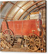 This Old Shed Held A Surprise Acrylic Print