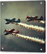 Those Flying Machines Acrylic Print