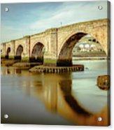 Three Bridges. Acrylic Print