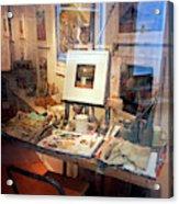 Through An Artists Window Acrylic Print